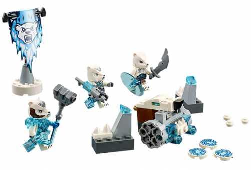 Конструктор LEGO Legends of Chima 70230 Лагерь полярных Медведей