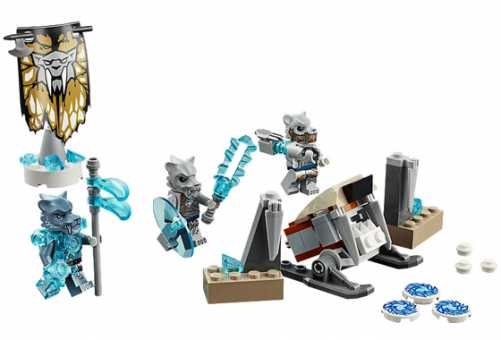 70232 - LEGO Легенды Chima Лагерь клана Саблезубых Тигров