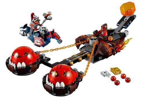 Конструктор LEGO Nexo Knights 70314 Безумная колесница Укротителя