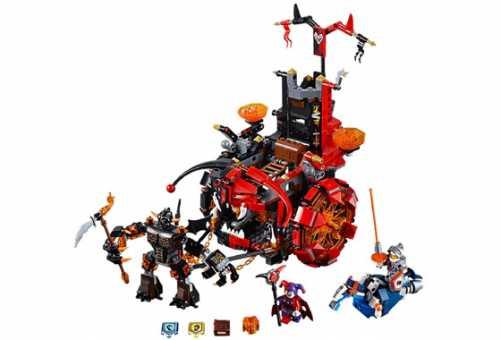 Конструктор LEGO Nexo Knights 70316 Зломобиль Джестро