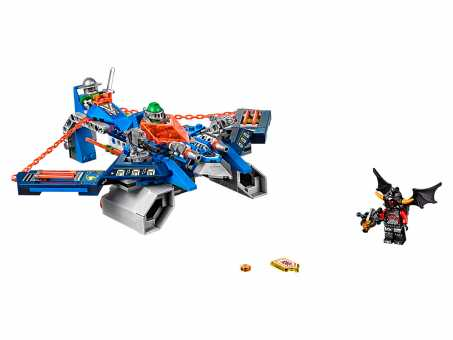 Конструктор LEGO Nexo Knights 70320 Аэроохотник Аарона