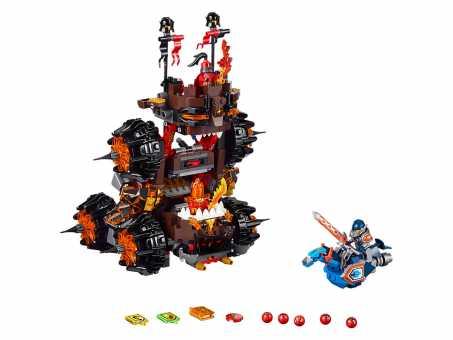 Конструктор LEGO Nexo Knights 70321 Осадная машина генерала Магмара
