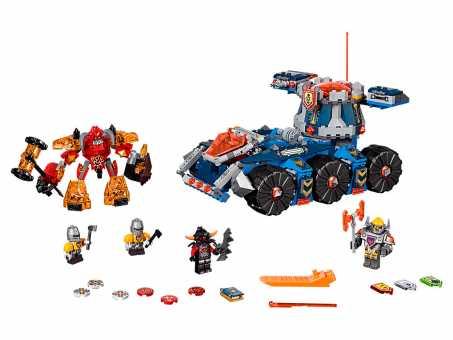 Конструктор LEGO Nexo Knights 70322 Подвижная башня Акселя