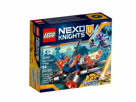 Конструктор LEGO Nexo Knights 70347 Артиллерия Королевской гвардии
