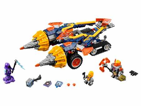Конструктор LEGO Nexo Knights 70354 Бур-машина Акселя