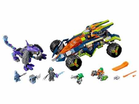 Конструктор LEGO Nexo Knights 70355 Вездеход Аарона