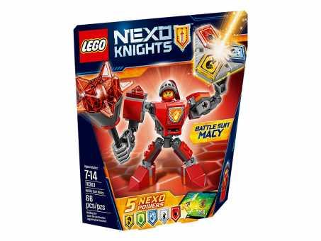 Конструктор LEGO Nexo Knights 70363 Боевые доспехи Мэйси