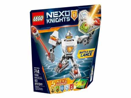 Конструктор LEGO Nexo Knights 70366 Боевые доспехи Ланса