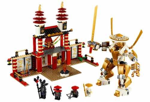 Конструктор LEGO Ninjago 70505 Храм Света