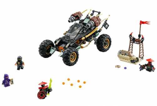 Конструктор LEGO Ninjago 70589 Горный внедорожник