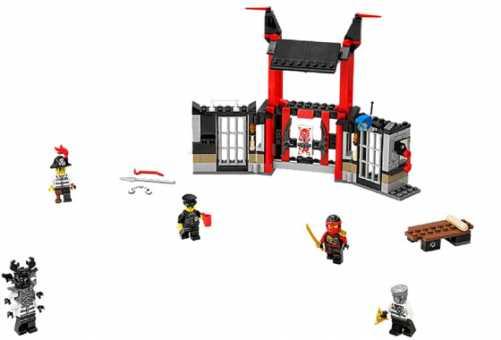 Конструктор LEGO Ninjago 70591 Разгром тюрьмы Криптариума