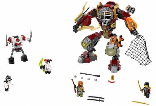 Конструктор LEGO Ninjago 70592 Спасение механоида