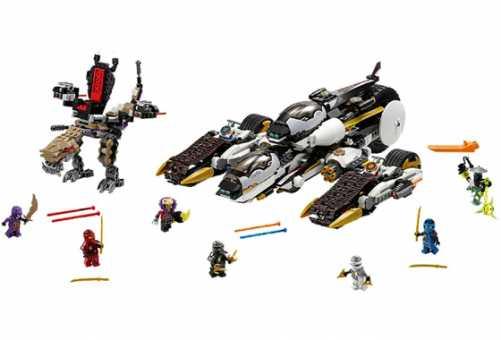 Конструктор LEGO Ninjago 70595 Ультра рейдер-невидимка