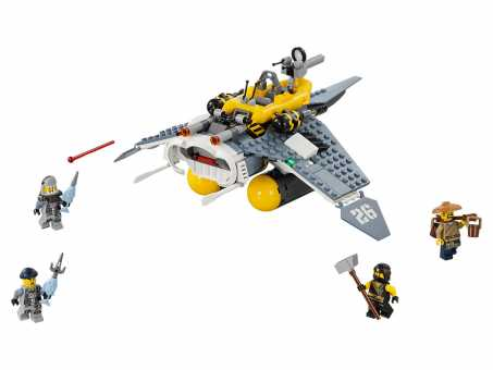 Конструктор LEGO The Ninjago Movie 70609 Бомбардировщик Морской дьявол