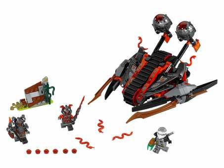 Конструктор LEGO Ninjago 70624 Алый захватчик