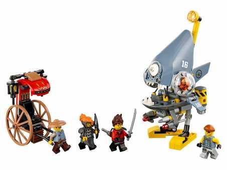 Конструктор LEGO The Ninjago Movie 70629 Нападение пираньи