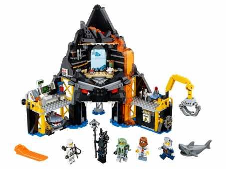 Конструктор LEGO The Ninjago Movie 70631 Логово Гармадона в жерле вулкана
