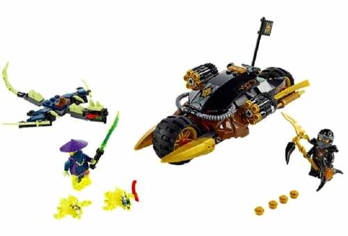 Конструктор LEGO Ninjago 70733 Бластер-байк Коула