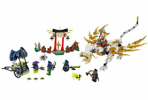 Конструктор LEGO Ninjago 70734 Дракон мастера Ву