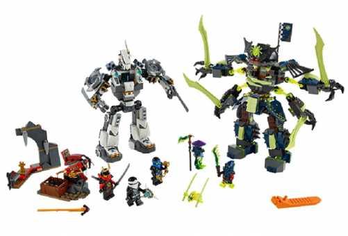 Конструктор LEGO Ninjago 70737 Битва механических титанов