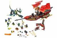 """Конструктор LEGO Ninjago 70738 Последний полет """"Дара судьбы"""""""