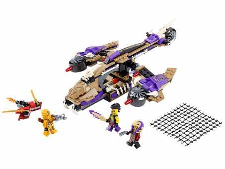 Конструктор LEGO Ninjago 70746 Вертолетная атака Анакондраев