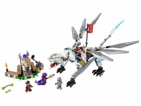 Конструктор LEGO Ninjago 70748 Титановый дракон