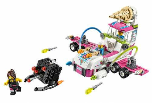 Конструктор LEGO The LEGO Movie 70804 Машина с мороженым