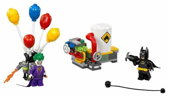 Конструктор LEGO The Batman Movie 70900 Побег Джокера на воздушных шариках