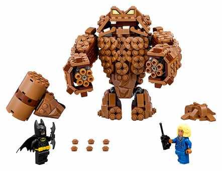 Конструктор LEGO The Batman Movie 70904 Нападение Глиноликого