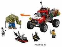 Конструктор LEGO The Batman Movie 70907 Хвостовоз убийцы Крока