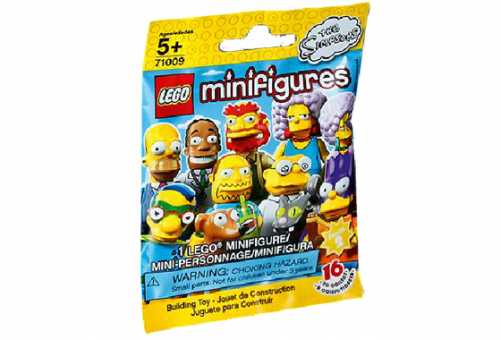 Конструктор LEGO Collectable Minifigures 71009 Симпсоны