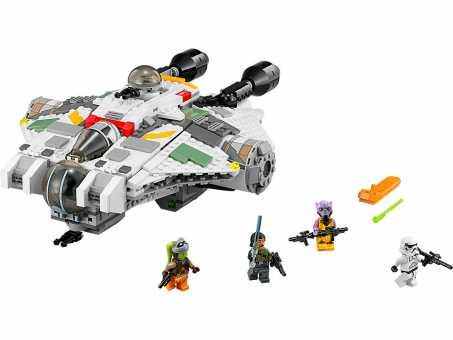 Конструктор LEGO Star Wars 75053 Звёздный корабль Призрак