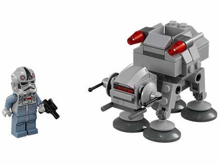 Конструктор LEGO Star Wars 75075 Шагающий робот АТ-АТ