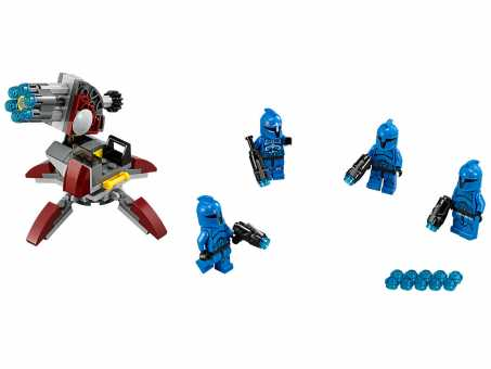 Конструктор LEGO Star Wars 75088 Элитное подразделение Коммандос Сената