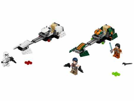Конструктор LEGO Star Wars 75090 Скоростной спидер Эзры Бриджера