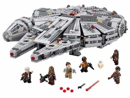 Конструктор LEGO Star Wars 75105 Сокол тысячелетия