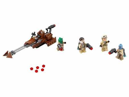 Конструктор LEGO Star Wars 75133 Боевой набор Повстанцев