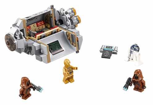 Конструктор LEGO Star Wars 75136 Спасательная капсула дроидов