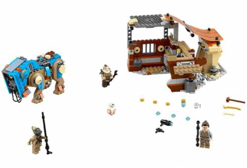 Конструктор LEGO Star Wars 75148 Столкновение на Джакку