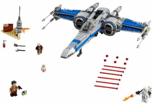 Конструктор LEGO Star Wars 75149 Икскрылый истребитель Сопротивления