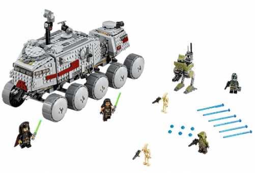 Конструктор LEGO Star Wars 75151 Турботанк клонов