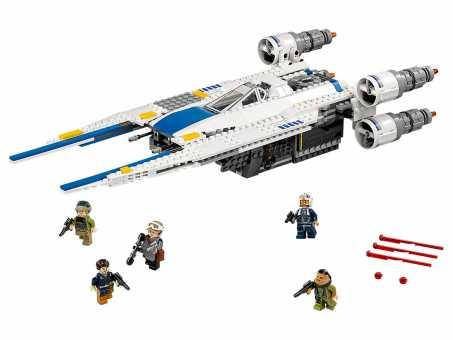 Конструктор LEGO Star Wars 75155 Истребитель повстанцев U-wing