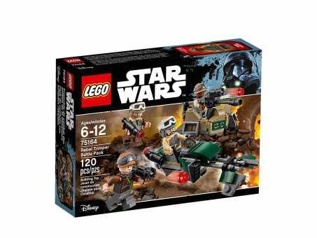 Конструктор LEGO Star Wars 75164 Боевой набор Повстанцев