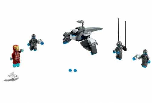 Конструктор LEGO Marvel Super Heroes 76029 Железный человек против Альтрона