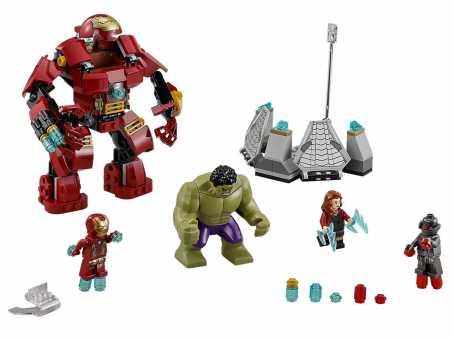 Конструктор LEGO Marvel Super Heroes 76031 Разрушительный удар Халкбастера