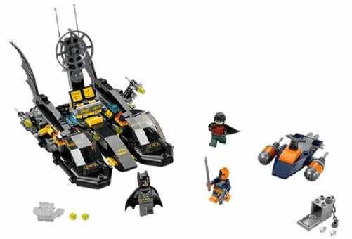 Конструктор LEGO DC Super Heroes 76034 Погоня на бэткатере в порту