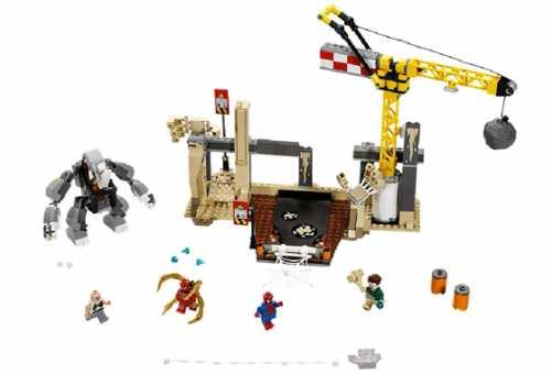 Конструктор LEGO Marvel Super Heroes 76037 Носорог и Песочный человек с командой супер злодеев