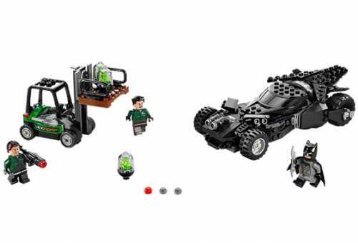 Конструктор LEGO DC Super Heroes 76045 Перехват криптонита