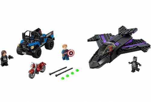 Конструктор LEGO Marvel Super Heroes 76047 Преследование Черной Пантеры